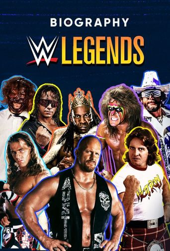 A&E Biography: WWE Legends Poster