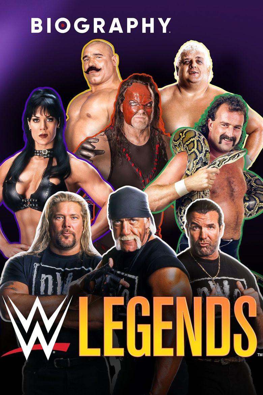 A&E Biography: WWE Legends Poster