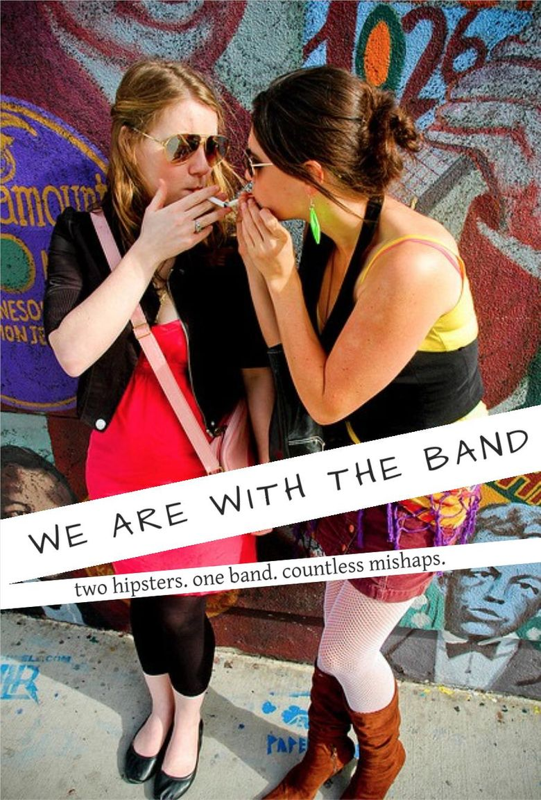 We Are With The Band Poster
