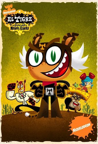 El Tigre: The Adventures of Manny Rivera Poster