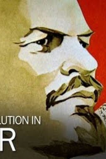 Russian Revolution in Color Poster