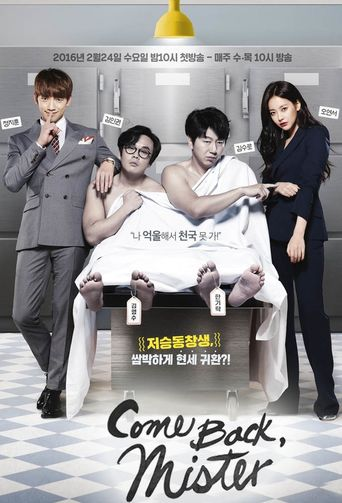 Please Come Back, Mister Poster