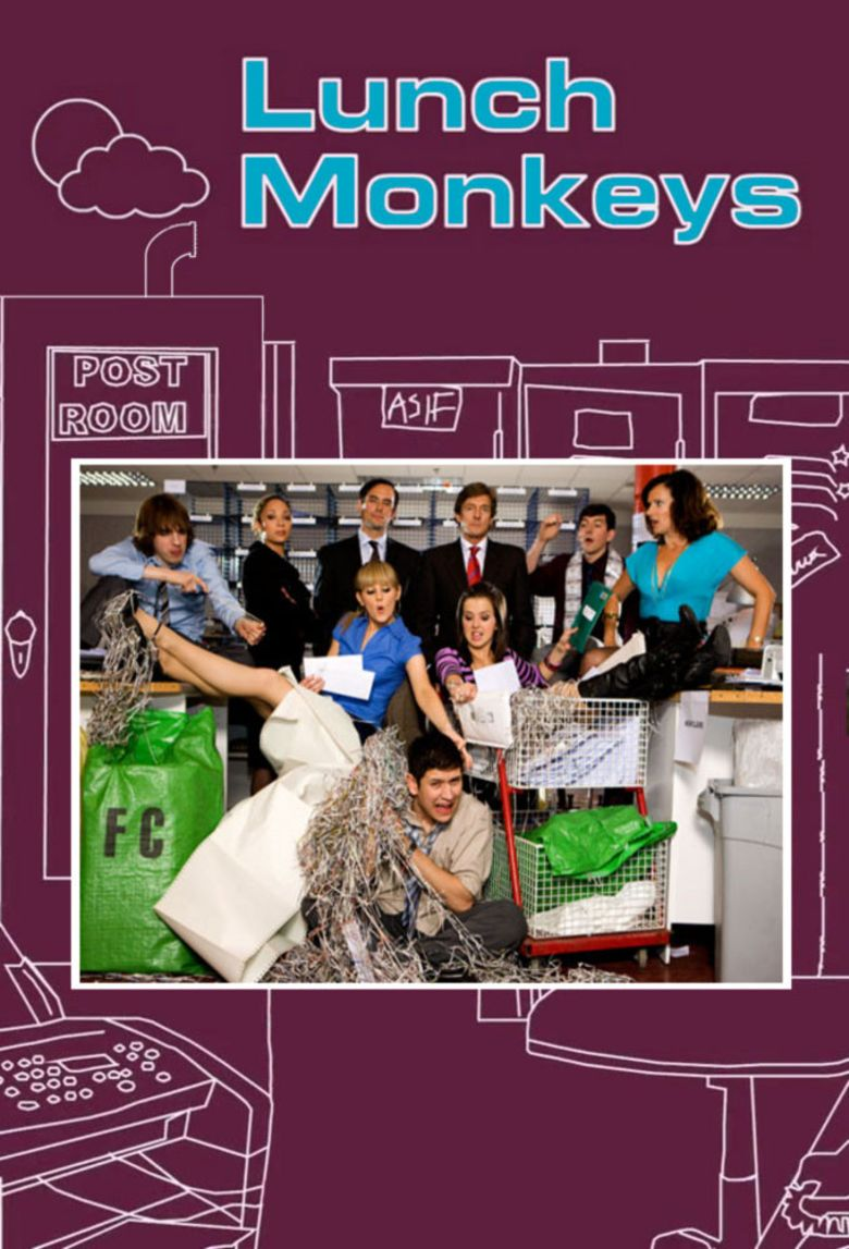 Lunch Monkeys Poster