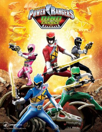 Power Rangers: Dino Charge Poster