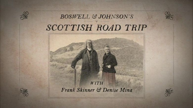 Boswell & Johnson's Scottish Road Trip Poster