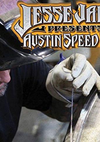 Jesse James Austin Speed Shop Poster