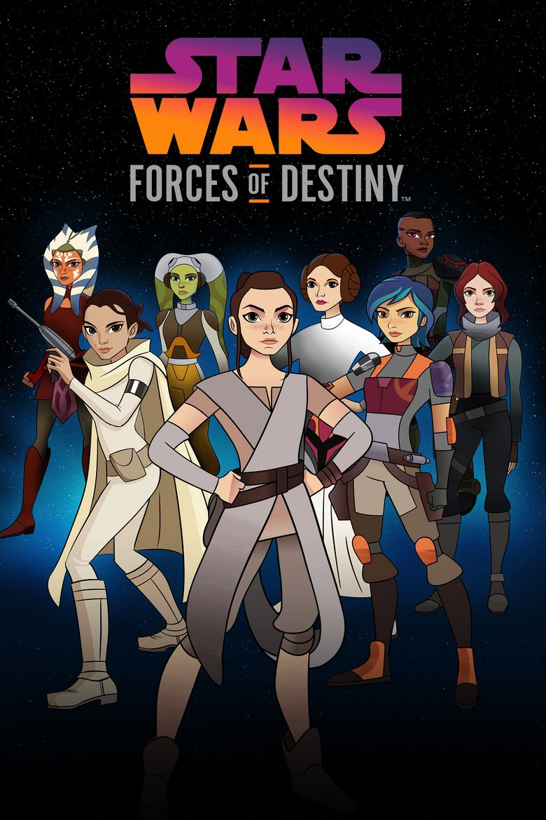 Star Wars: Forces of Destiny Poster