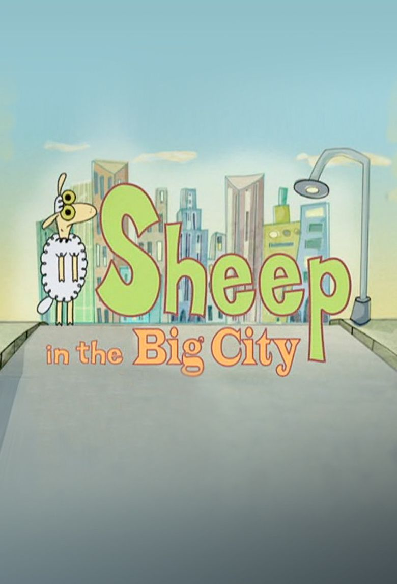 Sheep in the Big City Poster