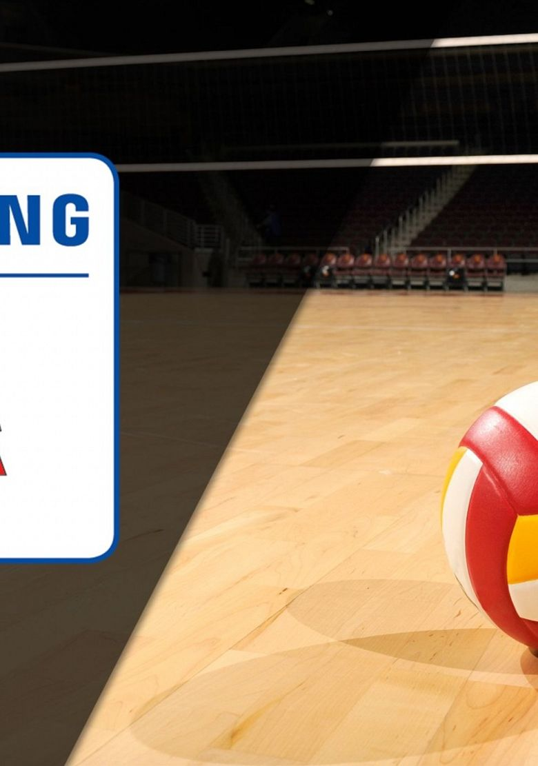 Italian Serie A Women's Volleyball League Poster