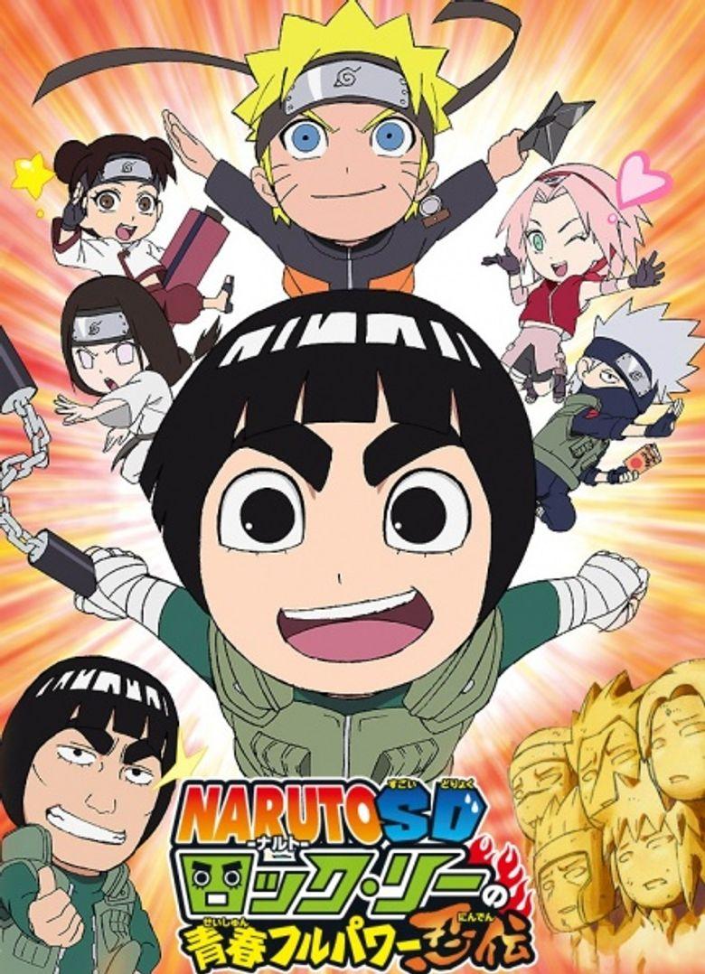 NARUTO Spin-Off: Rock Lee & His Ninja Pals Poster