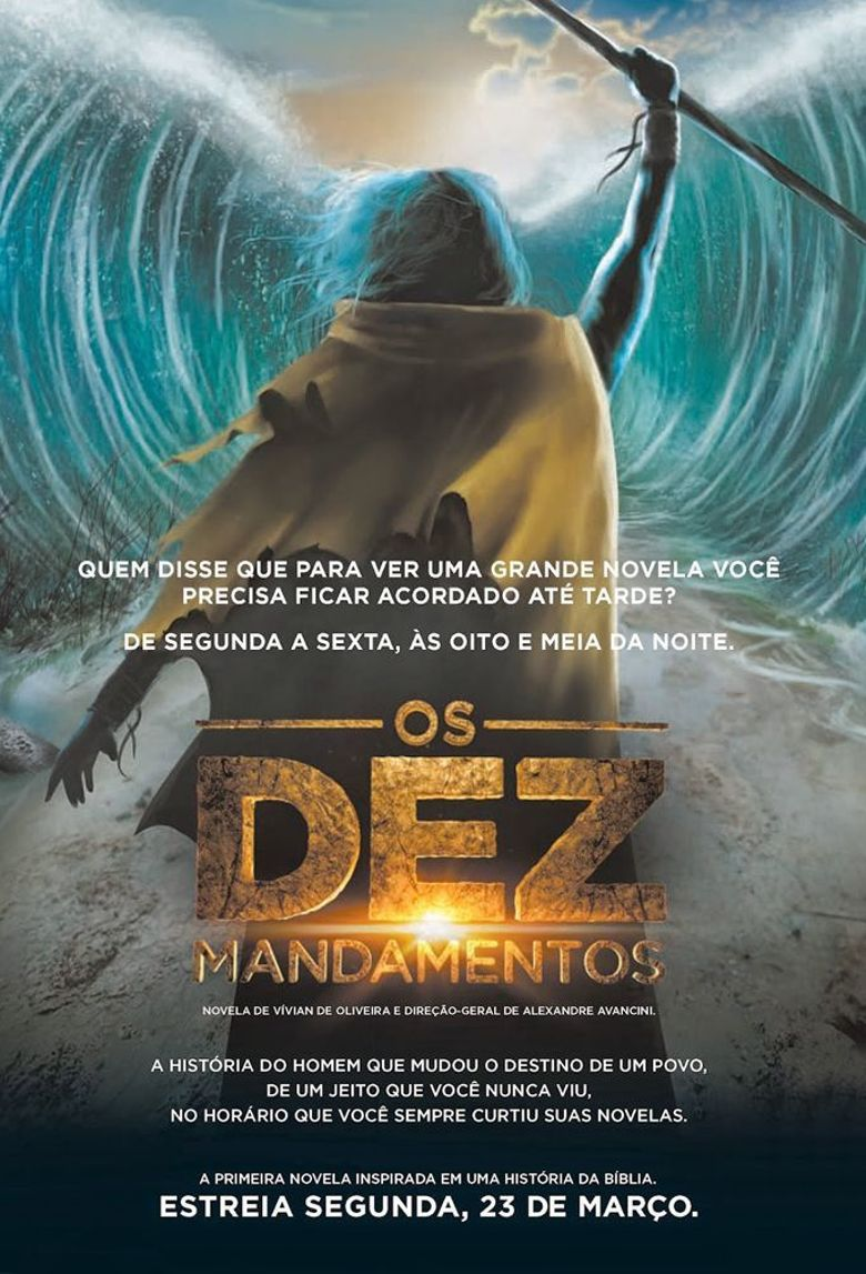 Moses and the Ten Commandments Poster