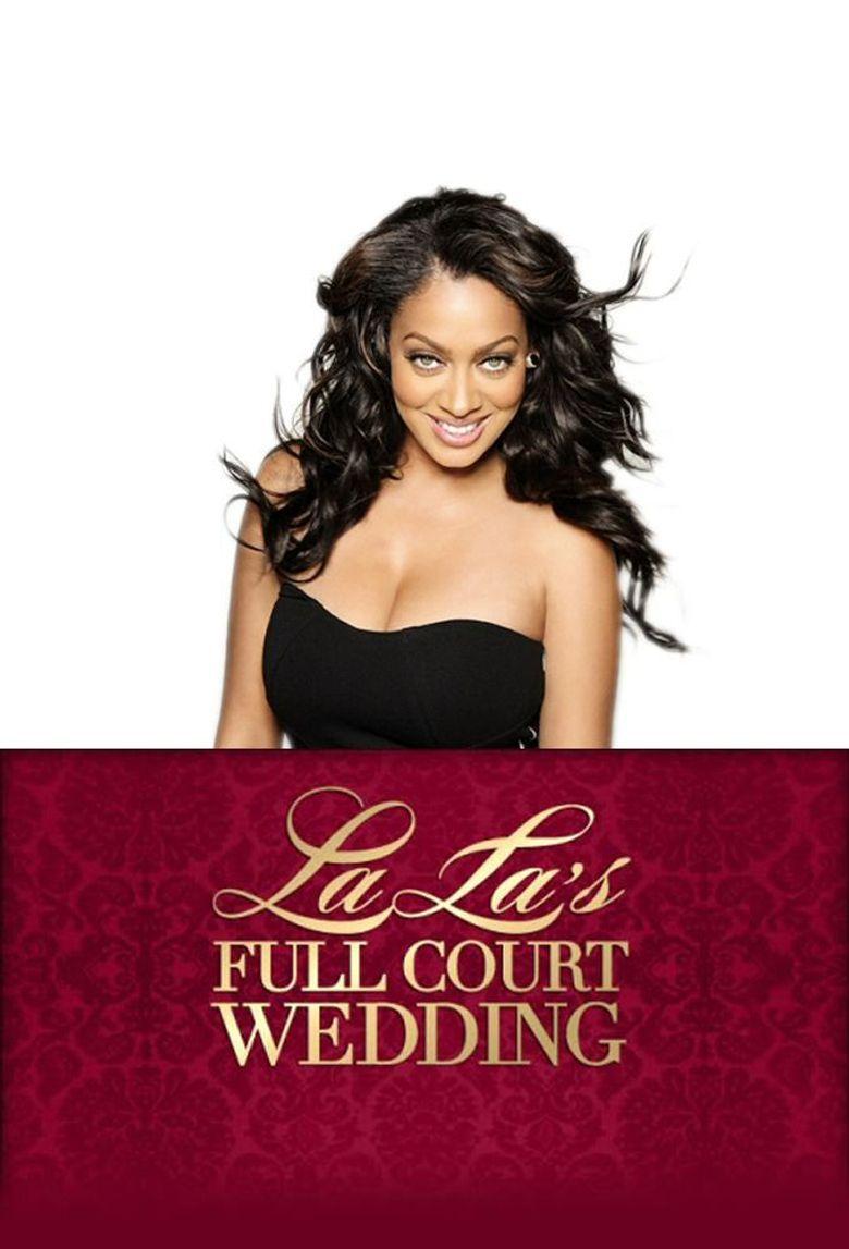 La La's Full Court Wedding Poster