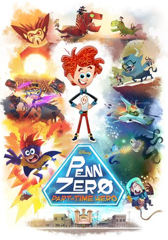 Penn Zero: Part-Time Hero Poster