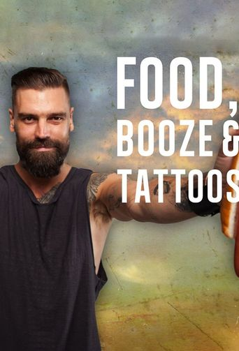Food, Booze & Tattoos Poster