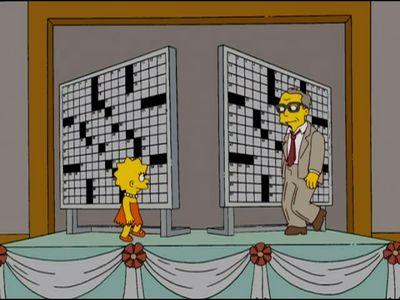 Season 20, Episode 06 Homer and Lisa Exchange Cross Words