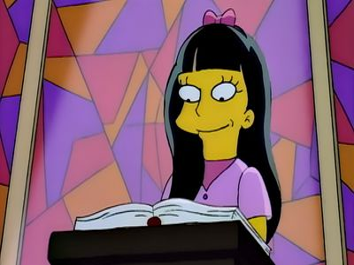 Season 06, Episode 07 Bart's Girlfriend