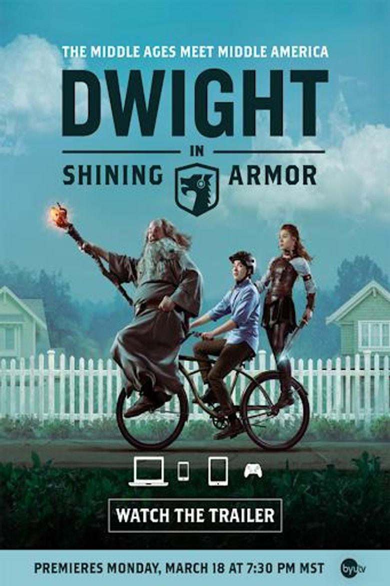Dwight in Shining Armor Poster
