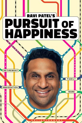Ravi Patel's Pursuit of Happiness Poster