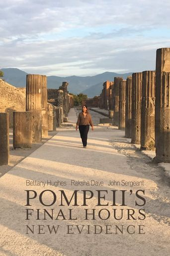 Pompeii's Final Hours: New Evidence Poster