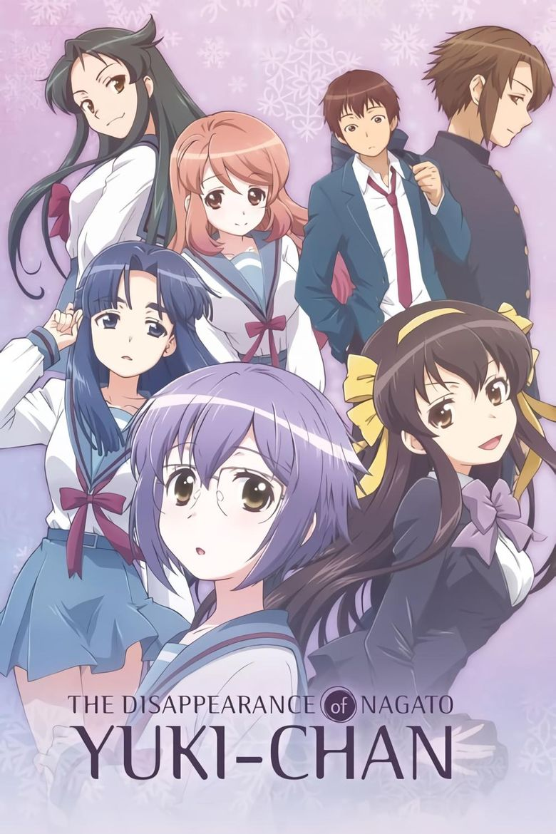The Disappearance of Nagato Yuki-chan Poster