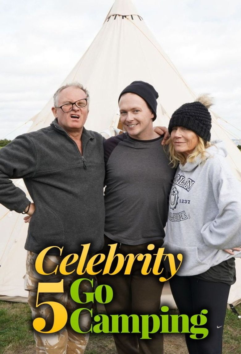 Celebrity 5 Go Camping Poster