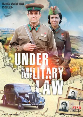 Under Military Law Poster