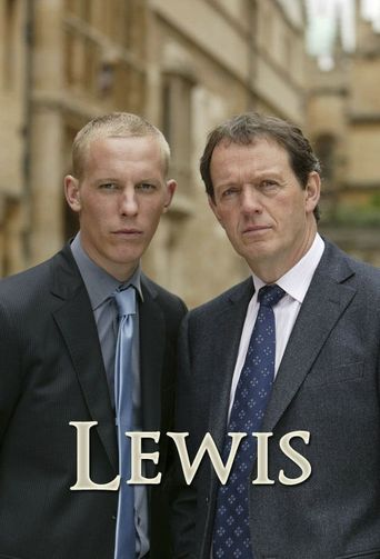 Inspector Lewis Poster