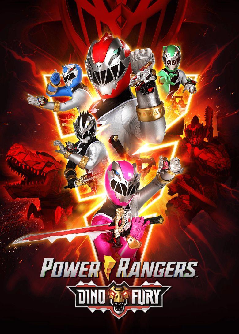 Power Rangers Dino Fury Poster