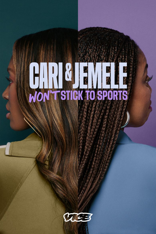 Cari & Jemele (Won't) Stick to Sports Poster