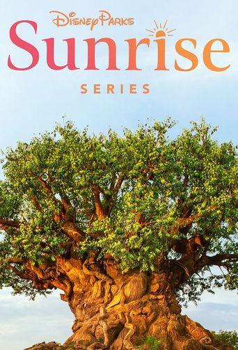 Disney Parks Sunrise Poster