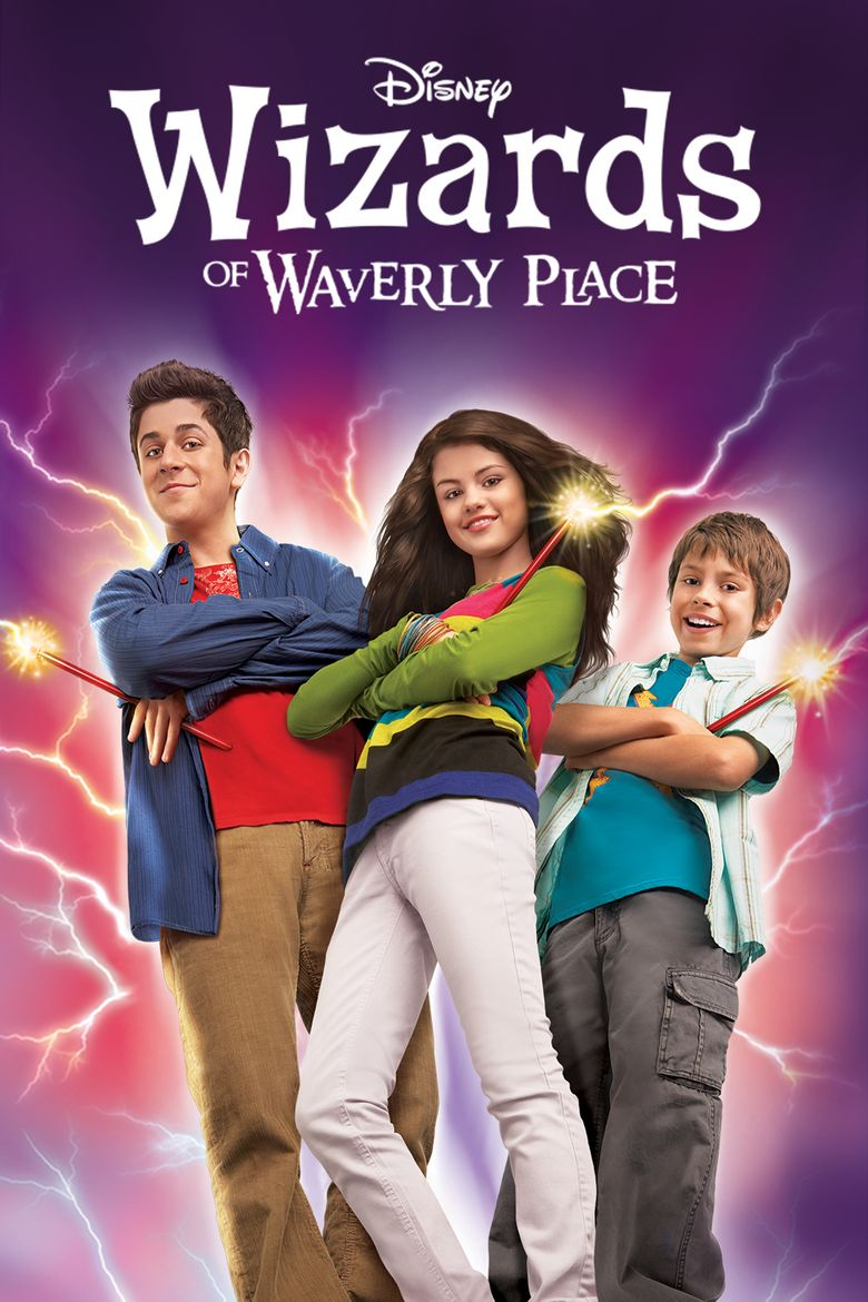 Wizards of Waverly Place Poster