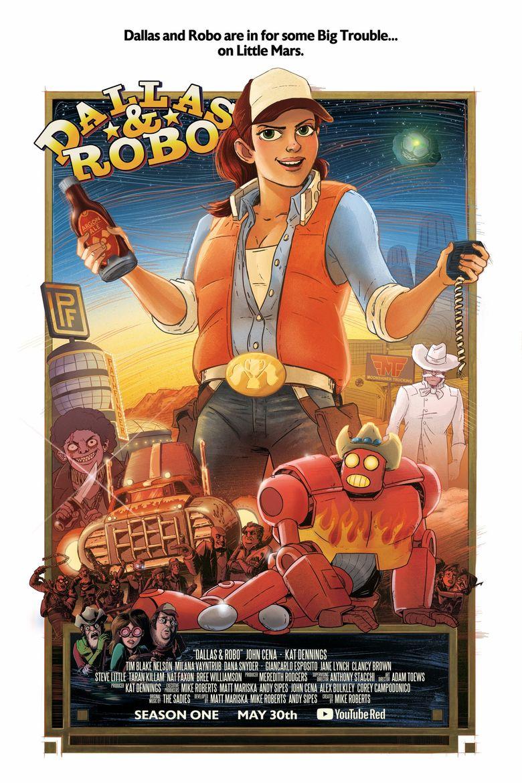 Dallas & Robo Poster