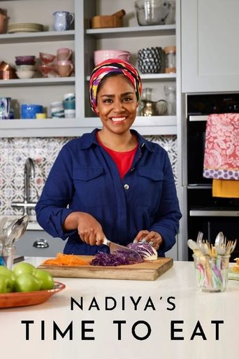 Nadiya's Time to Eat Poster