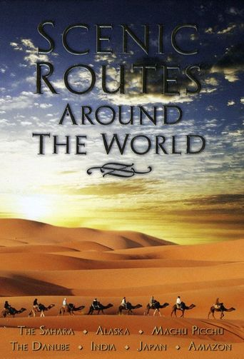 Scenic Routes Around the World Poster