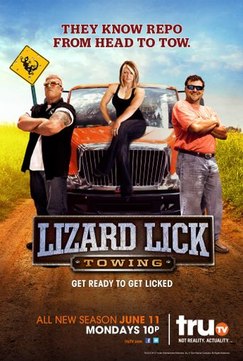 Lizard Lick Towing Poster