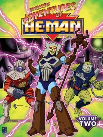 The New Adventures of He-Man Poster
