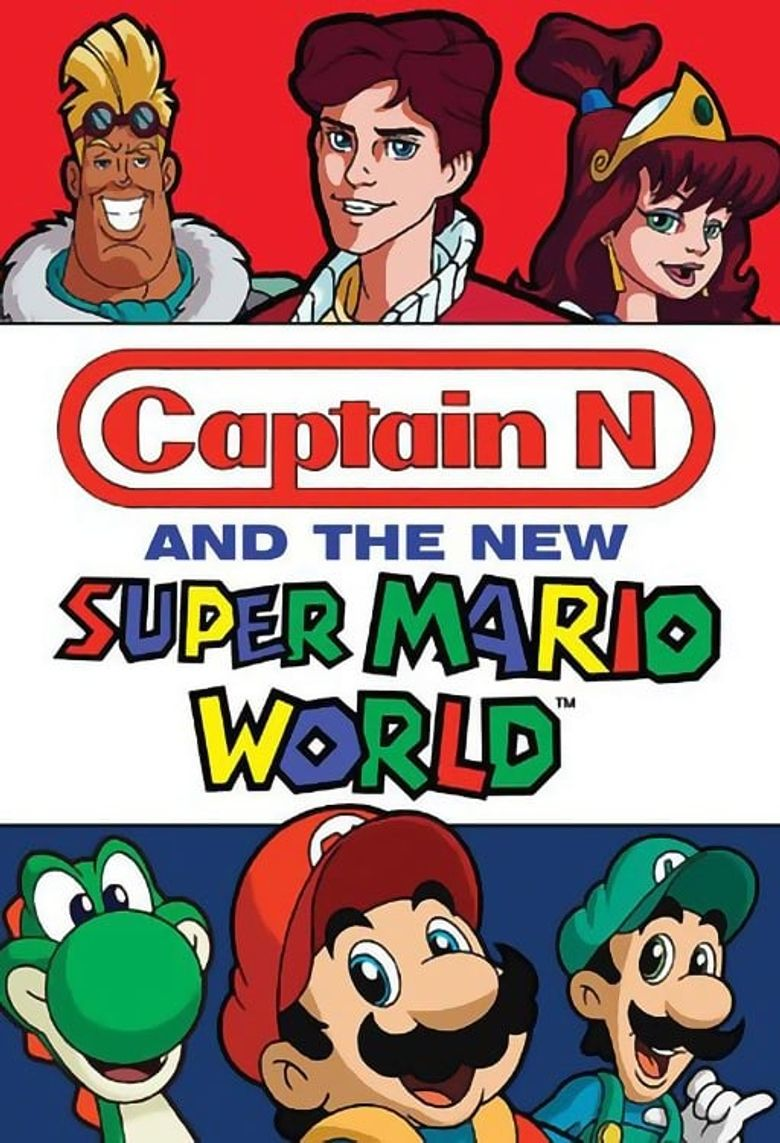 Captain N and the New Super Mario World Poster