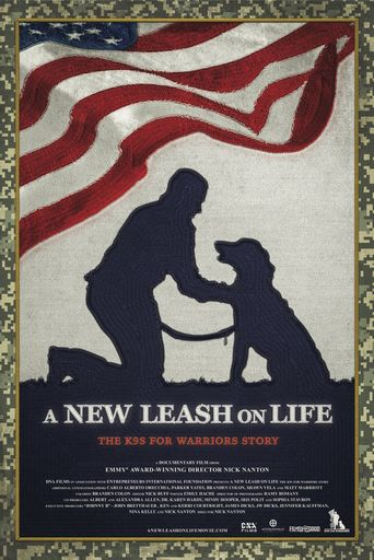 A New Leash on Life: The K9s for Warriors Story Poster
