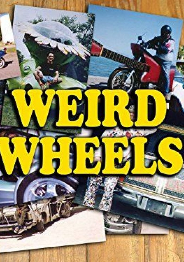 Weird Wheels Poster