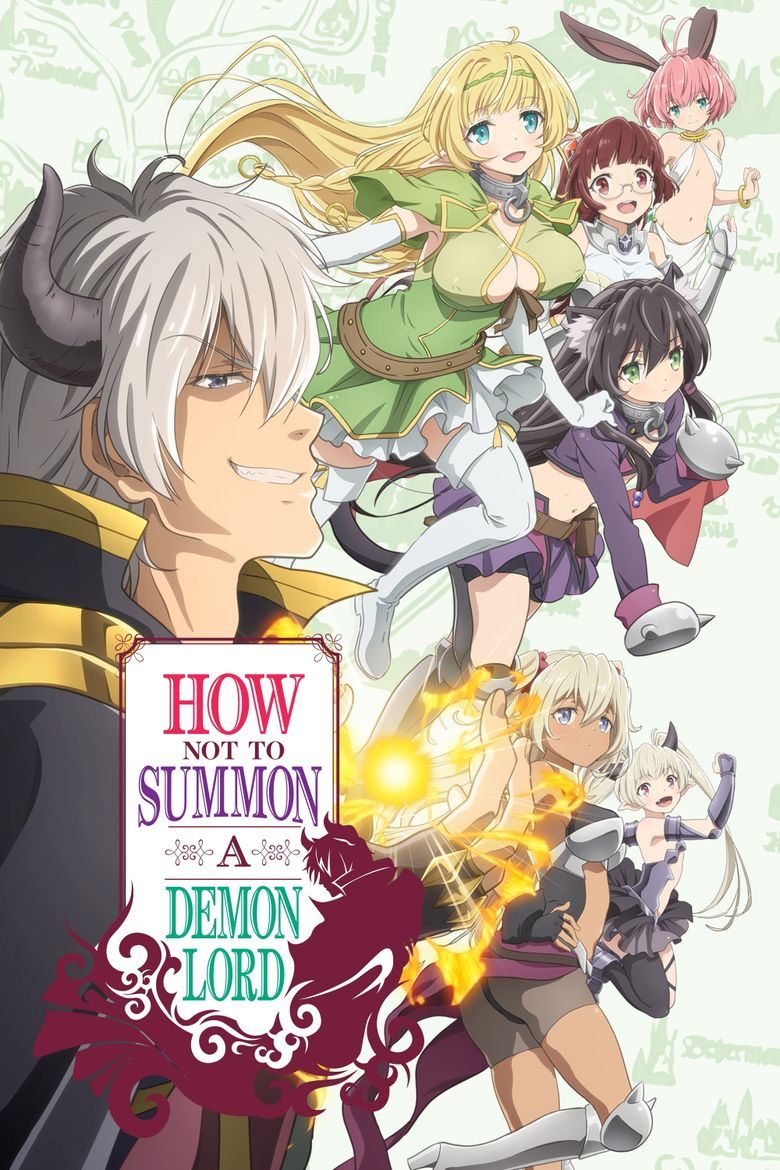 How Not to Summon a Demon Lord Poster