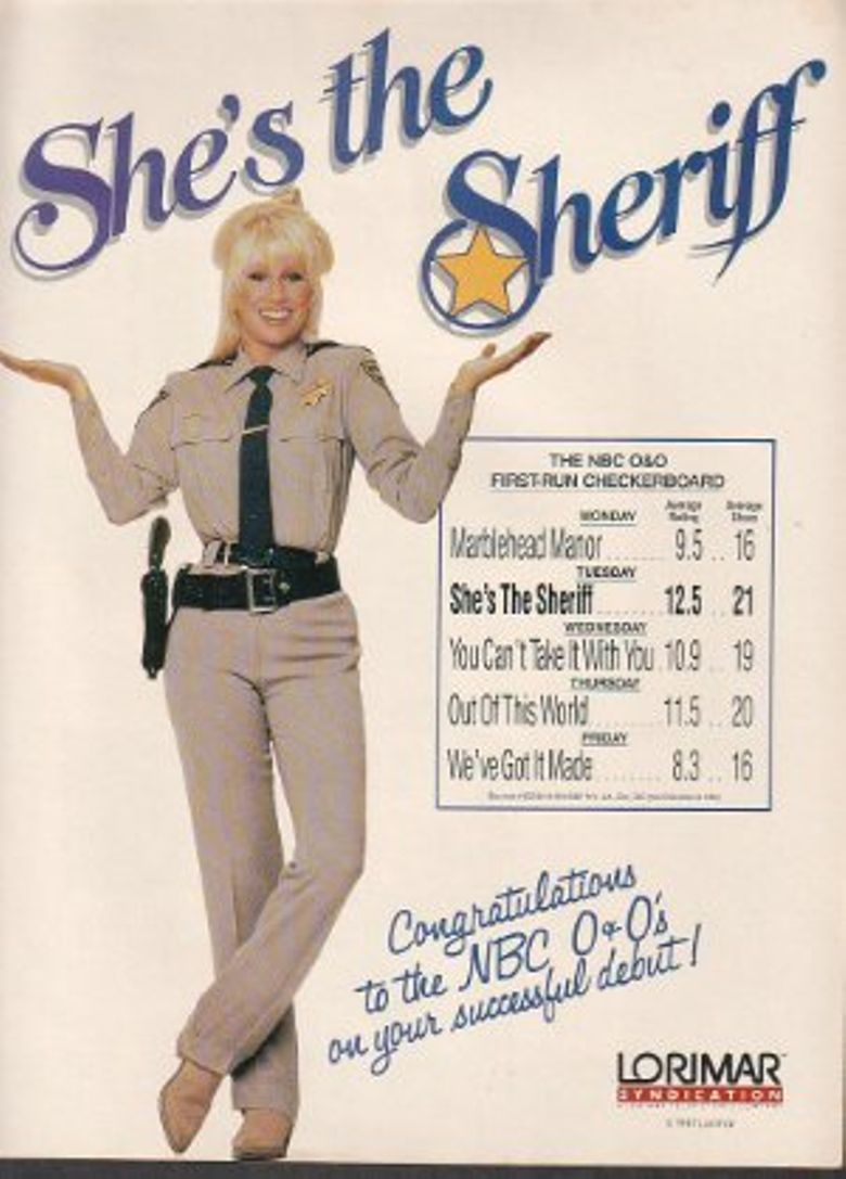 She's the Sheriff Poster