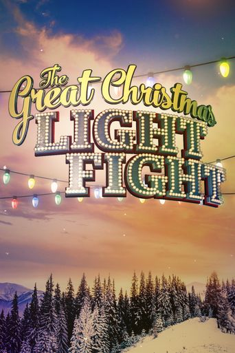 The Great Christmas Light Fight Poster