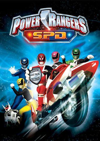 Power Rangers S.P.D Poster