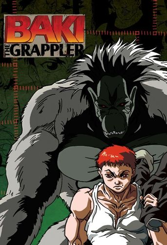 Baki the Grappler Poster