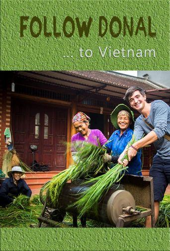 Follow Donal to Vietnam Poster