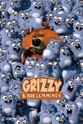 Grizzy & the Lemmings Poster