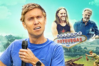 Russell Howard Stands Up To The World Poster
