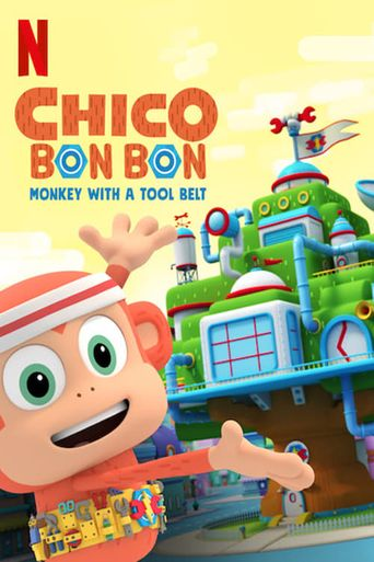 Chico Bon Bon: Monkey with a Tool Belt Poster