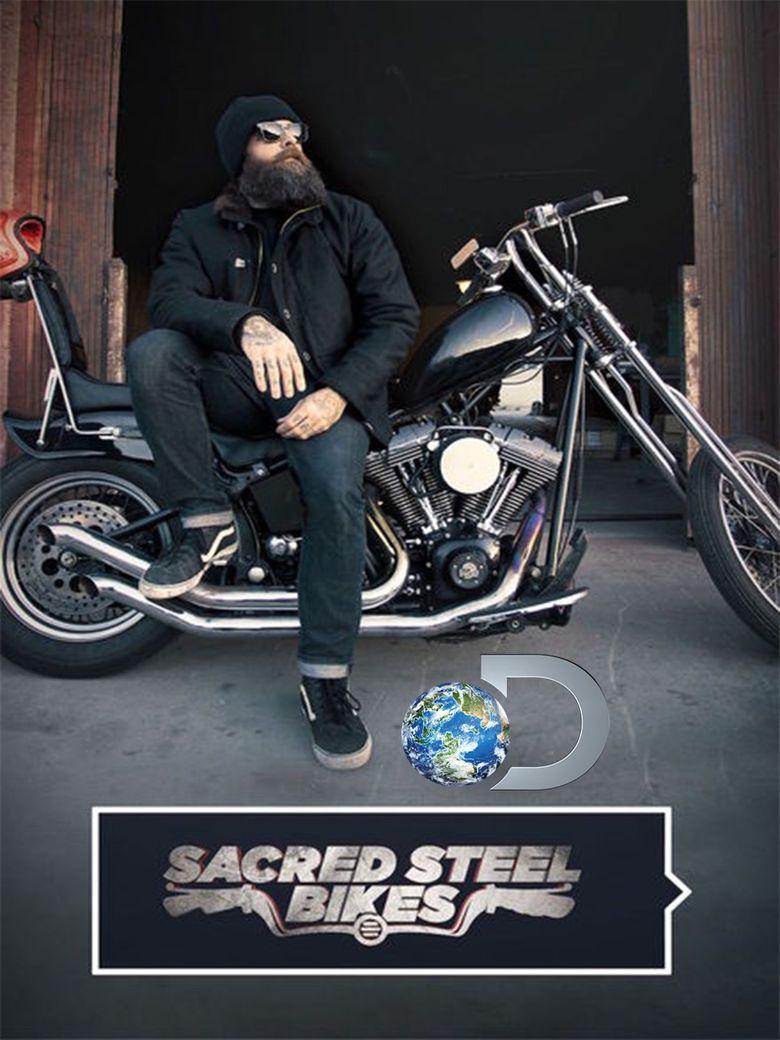 Sacred Steel Bikes Poster