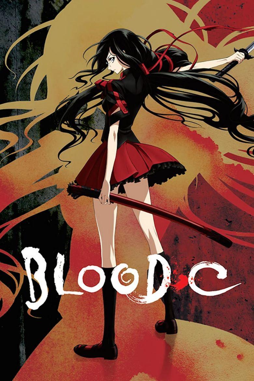 Blood-C Poster